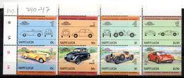 Serie Nº 728/35 Saint Lucia - St.Lucia (1979-...)