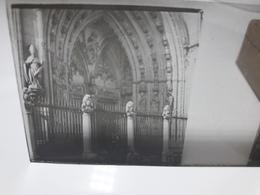 142 - Plaque De Verre -  Espagne - Lieu à Identifier - Glasplaten