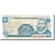 Billet, Nicaragua, 25 Centavos, 1991, Undated, KM:170a, SPL - Nicaragua
