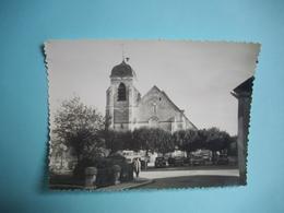 PHOTOGRAPHIE  AIX EN OTHE  -  10  -  Eglise D'Aix En Othe   -   8,5 X  11,5 Cms - 1963  -  AUBE - France