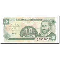 Billet, Nicaragua, 10 Centavos, 1991, Undated, KM:169a, SPL - Nicaragua