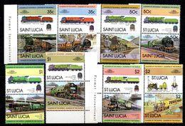 Serie Nº 598/613  St. Lucia - St.Lucia (1979-...)