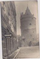 Carte Photo ,1923,LETTONIE,RIGA,avec Timbre,prés Du Golfe,daugava,état Baltes,riganais,garage,tour - Lettonie