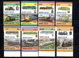 Serie Nº 794/809  St. Lucia - St.Lucia (1979-...)