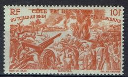 "French Somali Coast, ""Chad To Rhine"", 10f., 1946, MNH VF  Airmail - French Somali Coast (1894-1967)"