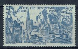 "French Somali Coast, ""Chad To Rhine"", 50f., 1946, MNH VF  Airmail - French Somali Coast (1894-1967)"