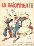 LA BAIONNETTE-1917-113-JOURNAL SATIRIQUE-CEUX QUI S'EN F.... - Newspapers