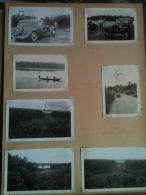 Photo - Cameroun 1952 - Bac De La Dibamba, Pirogue à Yansoki, Descente De La Sanaga, Route Douala-Edea, Automobile - Africa