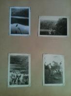 Photo - Cameroun 1952 - Lac Baleng, Photos De Jours Heureux, Saut De Plongeoir Effet Miroir, 4 Photographies - Africa