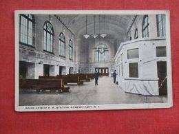 Interior View R.R. Station Schenectady New York>> Ref 2900 - NY - New York
