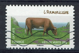"""France, French Breed Of Cow, """"Armoricaine"""", 2014, VFU Self-adhesive - Frankrijk"""