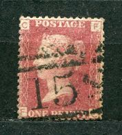 Great Britain Nr.16 Platte:149     (F-C)      O  Used      (804) - 1840-1901 (Victoria)