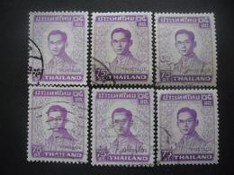 THAILANDE N°607 X 6 Oblitéré - Vrac (max 999 Timbres)