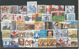 Serbia 2003 - 2013. Collection Of Additional (charity) Stamps,Red Cross,sport,AIDS,SIDA,Cancer,.. .MNH - Serbia