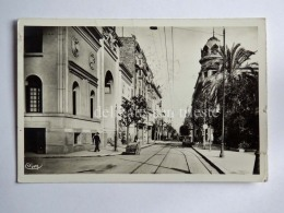 TUNISIA TUNIS TUNISI Rue Es-Sadikia AK Old Postcard - Tunisia