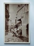 MAROCCO TANGER TANGERI Rue De La Casbah  AK Old Postcard - Tanger