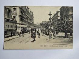 ALGERIA ORANO ORAN French Colony  France TRAM TRAMWAY CPA AK Old Postcard - Oran