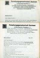 ArGe Sachsen Rundbriefe Nr. 16 + 17 - Jahrgang 1977 - Sachsen