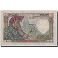 France, 50 Francs, 50 F 1940-1942 ''Jacques Coeur'', 1940, 1940-06-13, TB+ - 1871-1952 Anciens Francs Circulés Au XXème