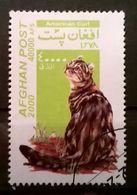 FRANCOBOLLI STAMPS AFGHANISTAN 2000 SERIE GATTI - Afghanistan