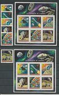BURUNDI Scott 379-384, 384a, C156 Yvert 486-491,BF55**,BF56** (6+2blocs)  O Et ** Cote 14,00 $ 1972 - 1970-79: Neufs