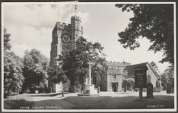 Chilham Church, Kent, 1958 - Judges RP Postcard - England