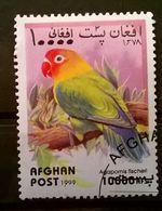 FRANCOBOLLI STAMPS AFGHANISTAN 1999 SERIE PAPPAGALLI - Afghanistan