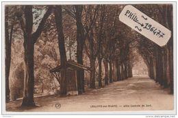 51 Châlons-sur-Marne - Cpa / Allée Centrale Du Jard. - Châlons-sur-Marne