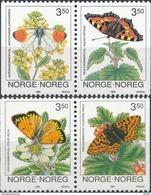 Noorwegen  Butterflies - Vlinders