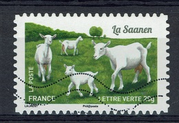 "France, French Goat Breed, ""Saanen"", 2015, VFU Self-adhesive - Frankrijk"