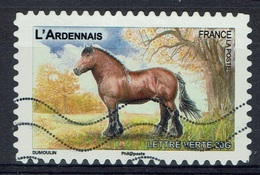 "France, French Horse Breed, ""Ardennais"", 2013, VFU Self-adhesive - Frankrijk"