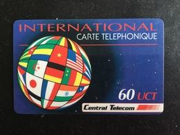 CARTE PREPAYEE CENTRAL TELECOM - Prepaid Cards: Other