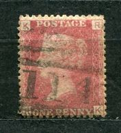 Great Britain Nr.16 Platte:172     (R-K)      O  Used      (845) - Oblitérés