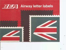 Grande-Bretagne ( Lot De 3 Timbres Privés Pour Lettres Aériennes XXX -MNH) - Cinderellas
