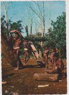 ILE DE MALLICOLO,VANUATU,nouvell Es Hébrides,ile Volcanique,BIG NAMBAS OF AMOK,joueur De TAM-TAM,avec Famille,rare - Vanuatu