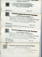 ArGe Sachsen Rundbriefe Nr. 10 - 13 - Jahrgang 1975 - Sachsen