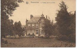 Beauvechain Le Château De M. De Streel. - Beauvechain