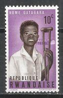 Rwanda 1964. Scott #70 (M) Boy With Crutch And Gatagara Home * - Rwanda