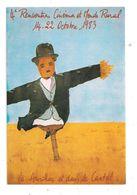 Aurillac-Festival International,Films1983- Epouvantail;Charlie-Chaplin (C.3978) - Aurillac