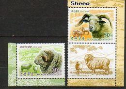 2015 NORTH KOREA - Sheep - Farm