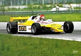 [MD1306] CPM - FORMUALA 1 - TEAM ATS - ELISEO SALAZARV - Non Viaggiata - Grand Prix / F1