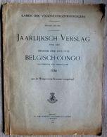 1931 JAARLIJKS VERSLAG OVER HET BEHEER DER KOLONIE BELGISCH CONGO - 196 BLZ !! ZEER INTERESSANT En ZELDZAAM  ! - Congo Belge - Autres