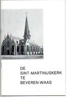Brochure St Martinus Kerk Beveren Waas Blz 32 - Books, Magazines, Comics