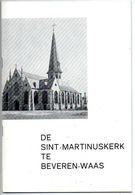 Brochure St Martinus Kerk Beveren Waas Blz 32 Geschiedenis - Livres, BD, Revues