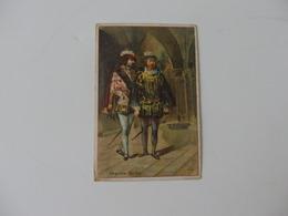 Chromo 10,5 Cm/7 Cm A. Bouillac, Pharmacie Principale Ainay-le-Château (Allier). - Vieux Papiers