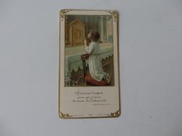 Image Pieuse Souvenir De La Communion Solennelle De Jean Duval En L'église De Pavilly (76). - Religion & Esotérisme