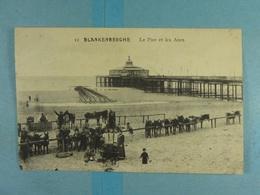 Blankenberghe Le Pier Et Les Anes - Blankenberge