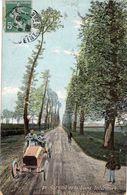 Grand Prix De France 1907 - Circuit De La Seine-Inférieure  -  La Route à Etalondes  -  CPA - Grand Prix / F1