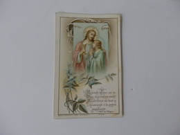 Image Pieuse Souvenir De La Communion En L'église St-Pierre De Macon (71) De Marguerite Leroux. - Religion & Esotérisme
