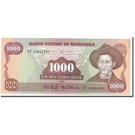 Billet, Nicaragua, 1000 Cordobas, 1985, Undated, KM:156b, SPL - Nicaragua